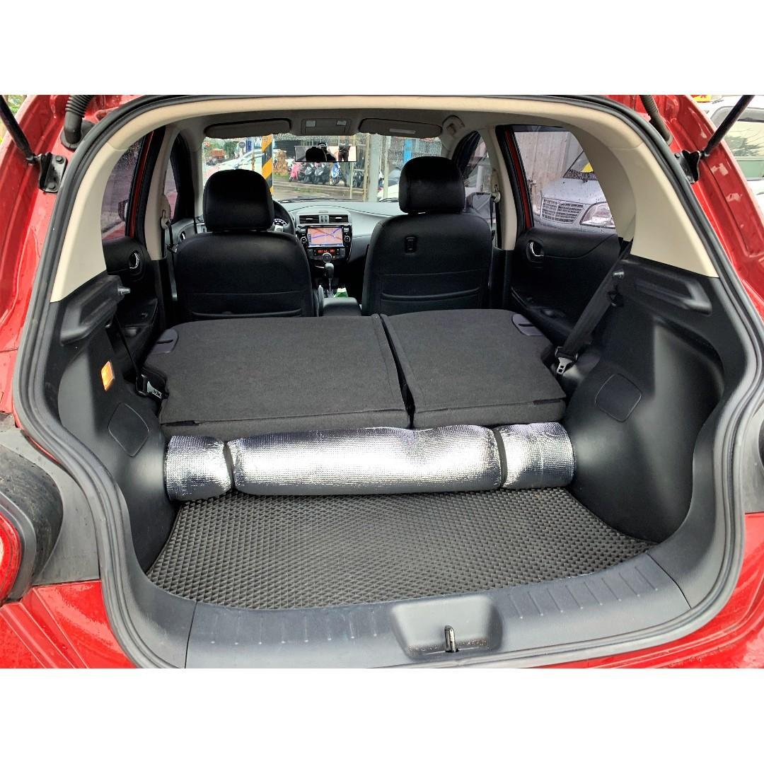 2014 TIIDA 5D 影音、免鑰匙 頭款3500可交車 FB搜尋: 阿億嚴選 好車至上 非LIVINA、FIT、YARIS、Colt+、Fiesta