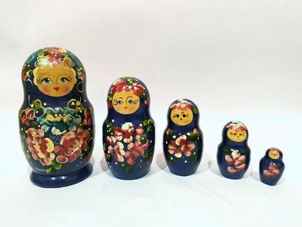 木製彩繪俄羅斯娃娃