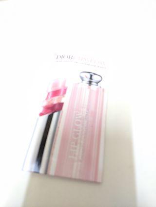 Dior潤唇膏試色卡