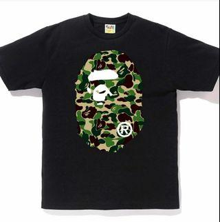 Bape abc big ape head tee