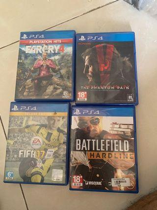 Big sale ps4 disc