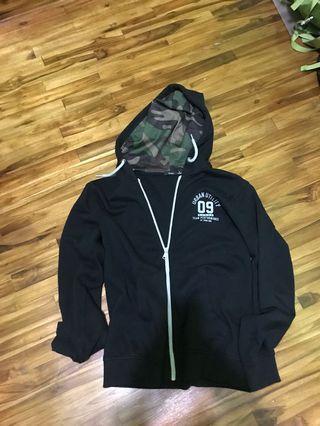 Jacket bossini army hood