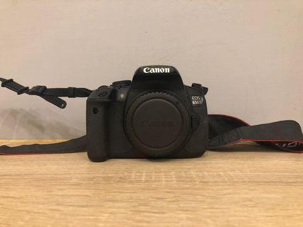 二手 Canon 650D 單機身 (附贈電池*2 /原廠充電器)