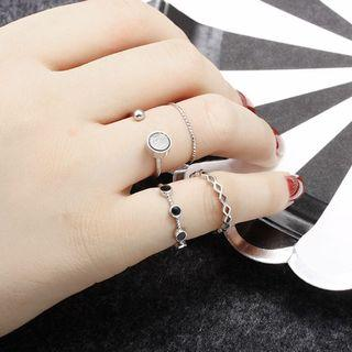 Cincin Set Isi 4 -Set Ring