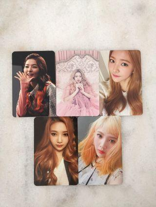 Red Velvet Official Photocard