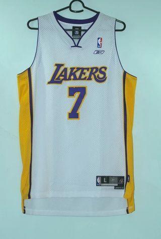 L.A Lakers Lamar Odom Reebok Basketball Jersey