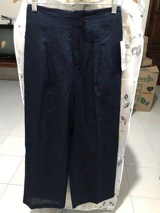 ZARA celana linen