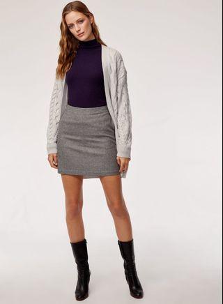Aritzia Wilfred Essonne Skirt (Grey)