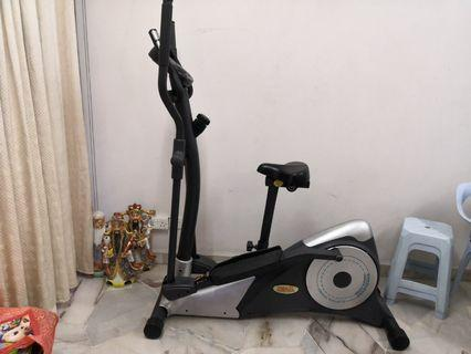 Trax 3in1 Cross trainer exercise machine