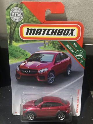 Matchbox Mercedes Benz GLE Coupe 1/64