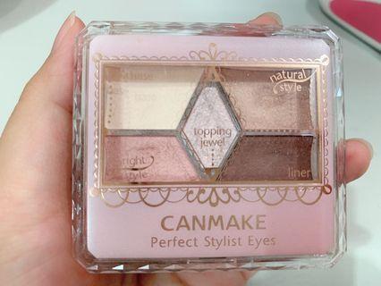 CANMAKE 眼影 色號5 浪漫粉色系 甜蜜