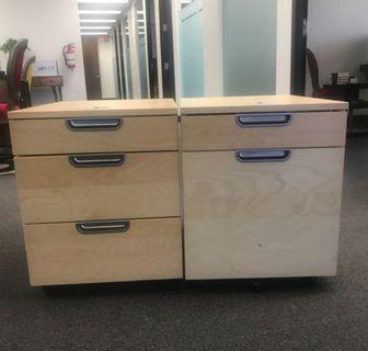 Side Table Filing Storage Unit