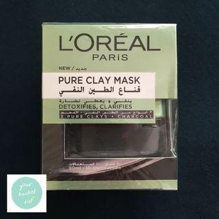 L'ORÉAL PARIS (Loreal) Pure Clay Mask Detoxify