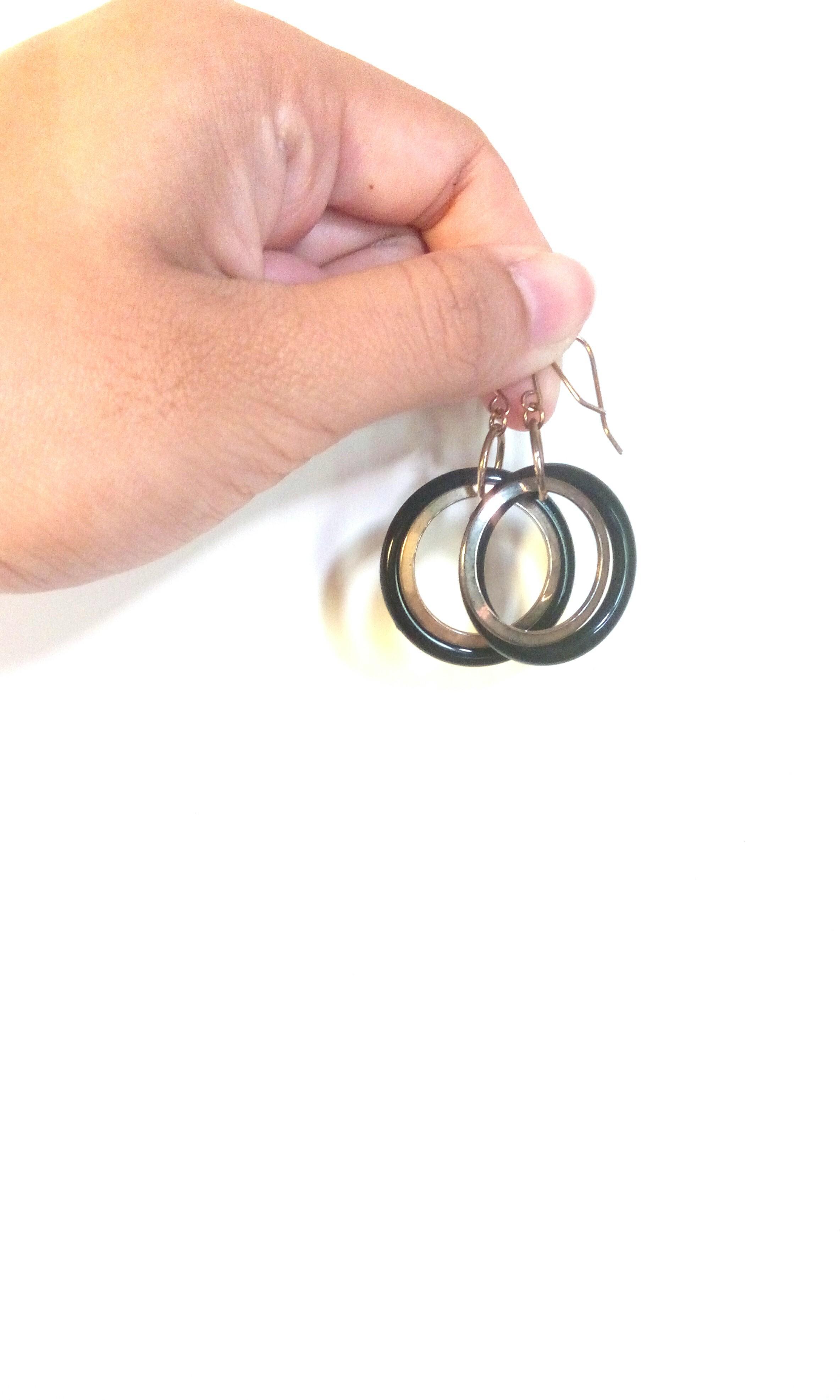 歐美風時尚耳針式耳環