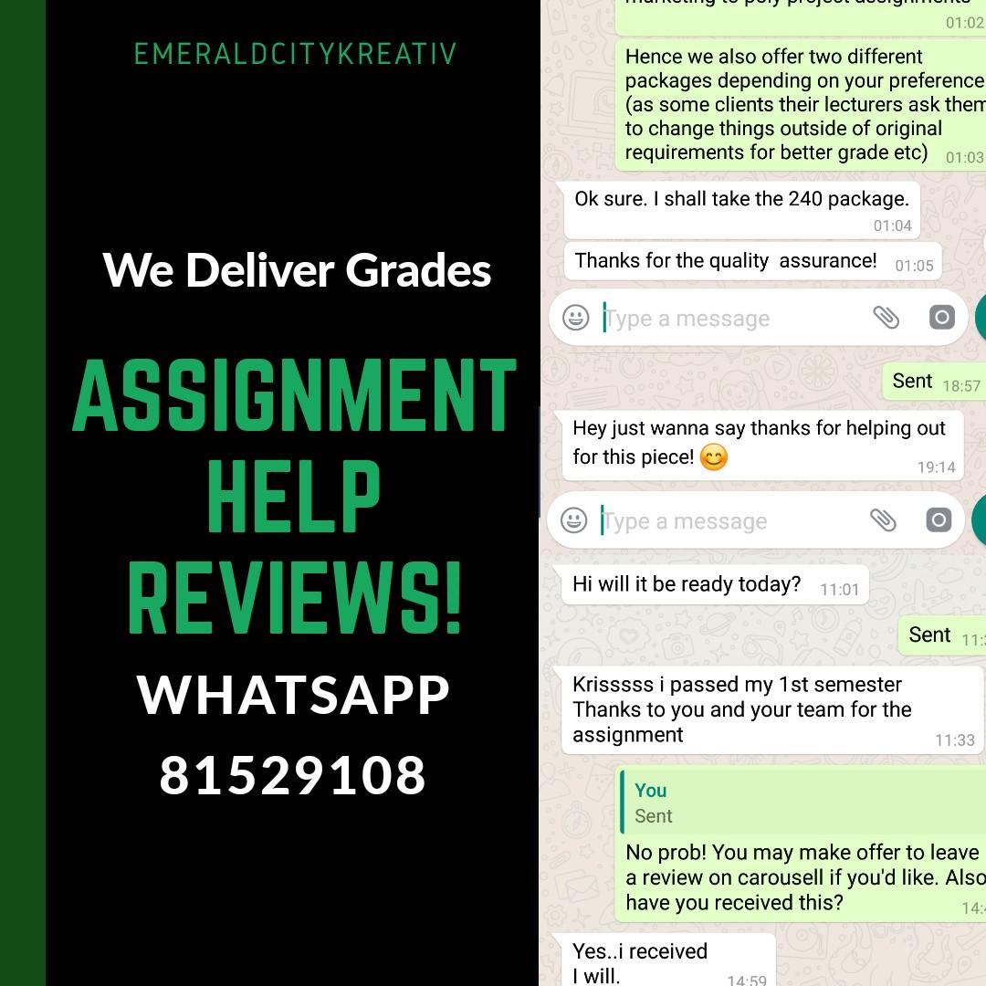 👍 Assignment Help Reviews // Trusted Essay Writing Service