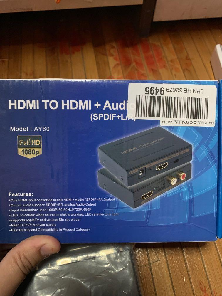 Adapter, HDMI, Switch
