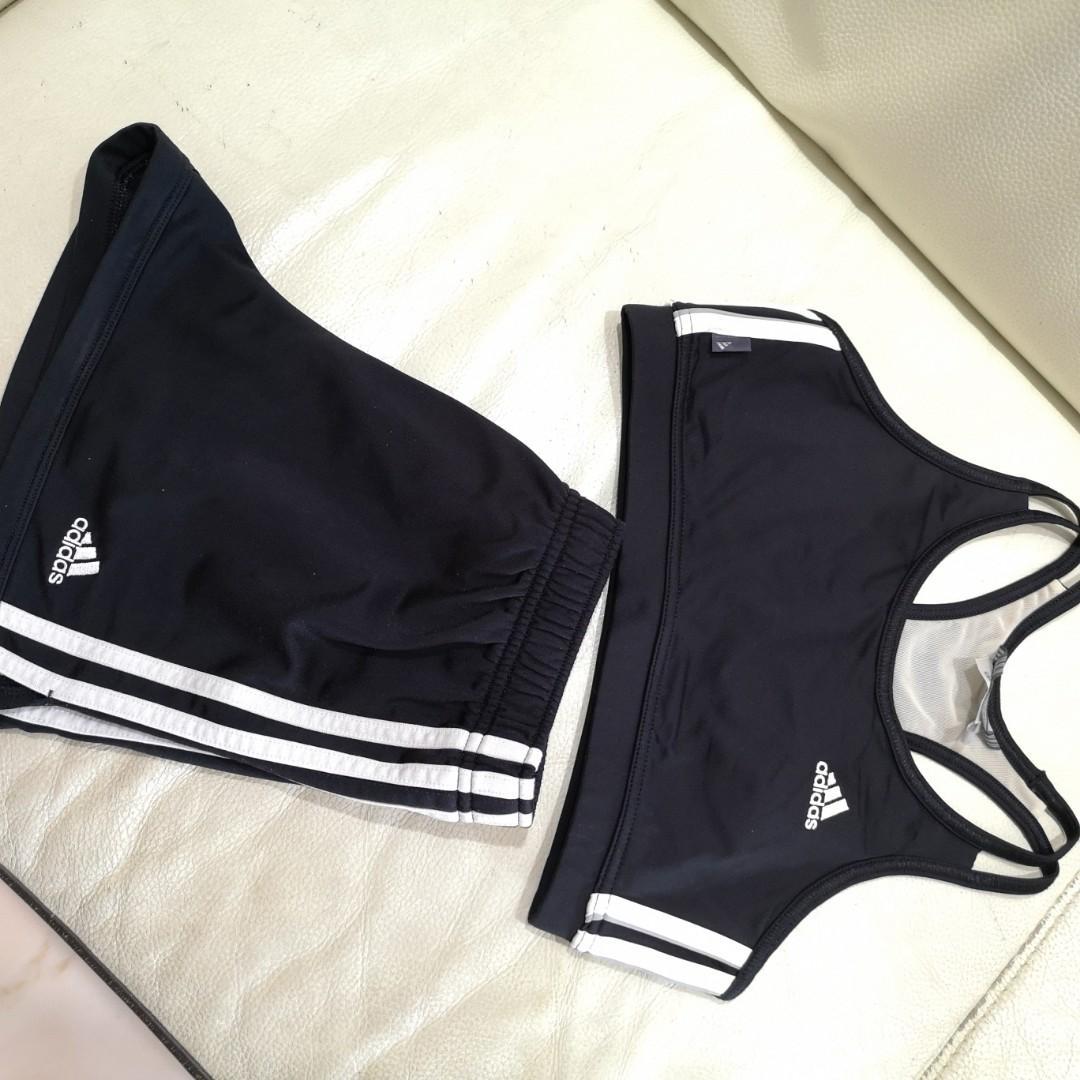 Adidas Sports Bra and short