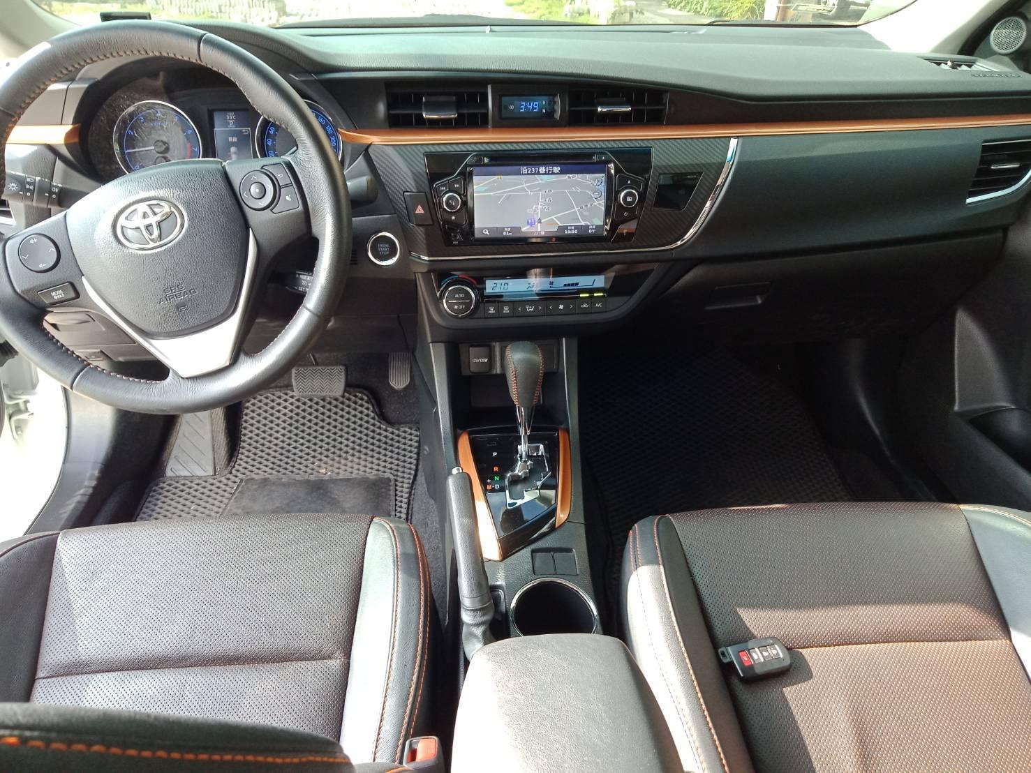 ALTIS X版 全額貸 低利率 找錢 車換車 皆可辦理