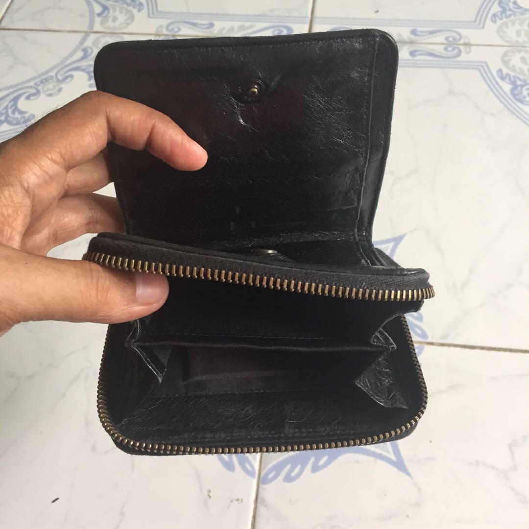 Balenciaga Vintage Black Wallet - Made in Italy & Series No : 310699.1000.H.527546