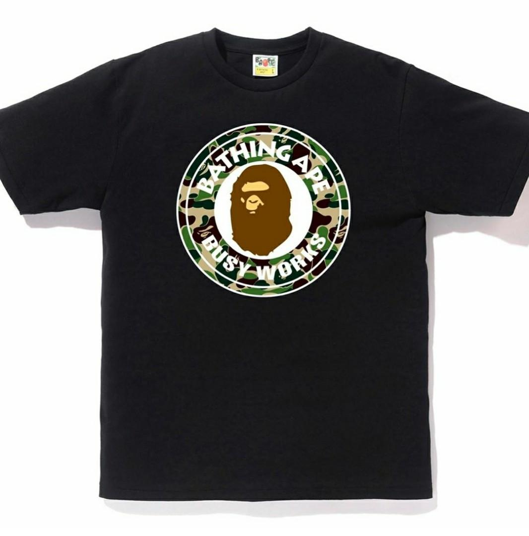 Bape abc busy works tee