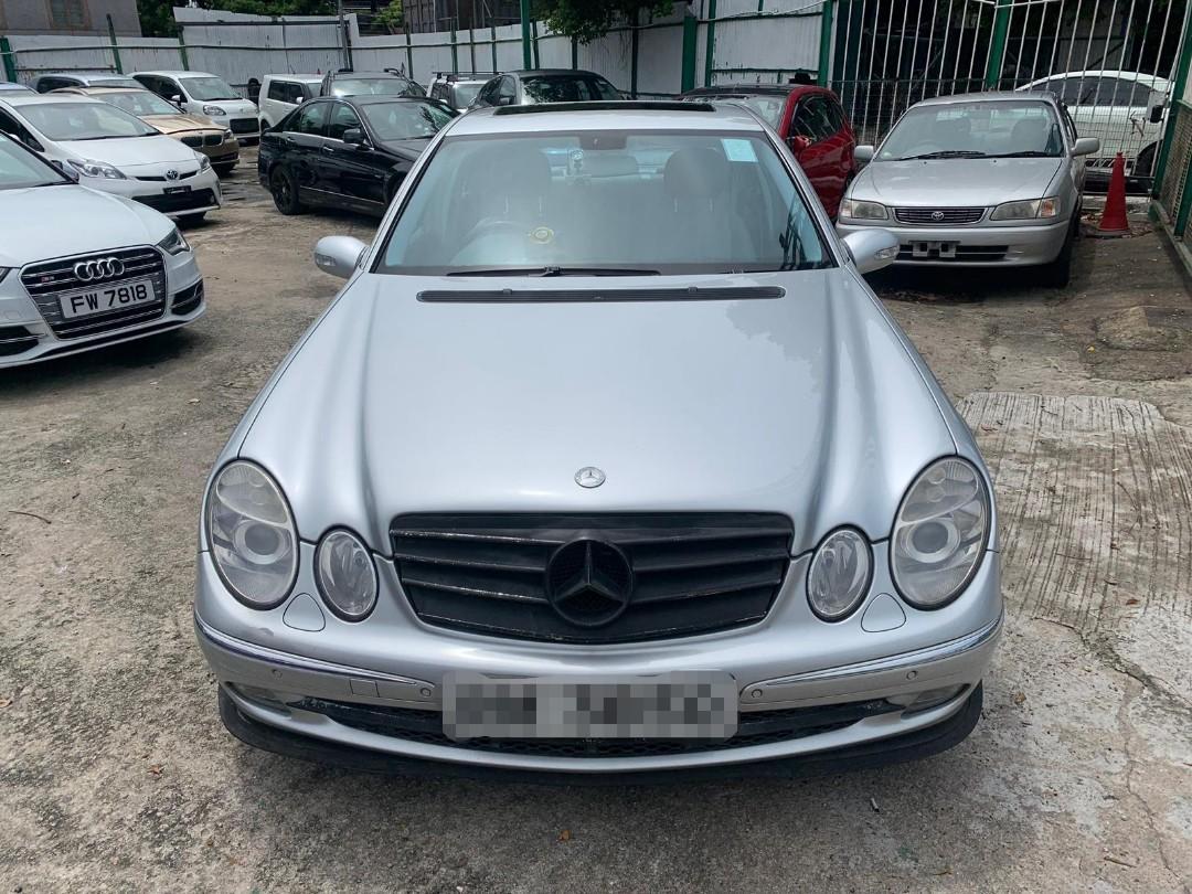 Benz E280 Avantgarde 06' 銀色