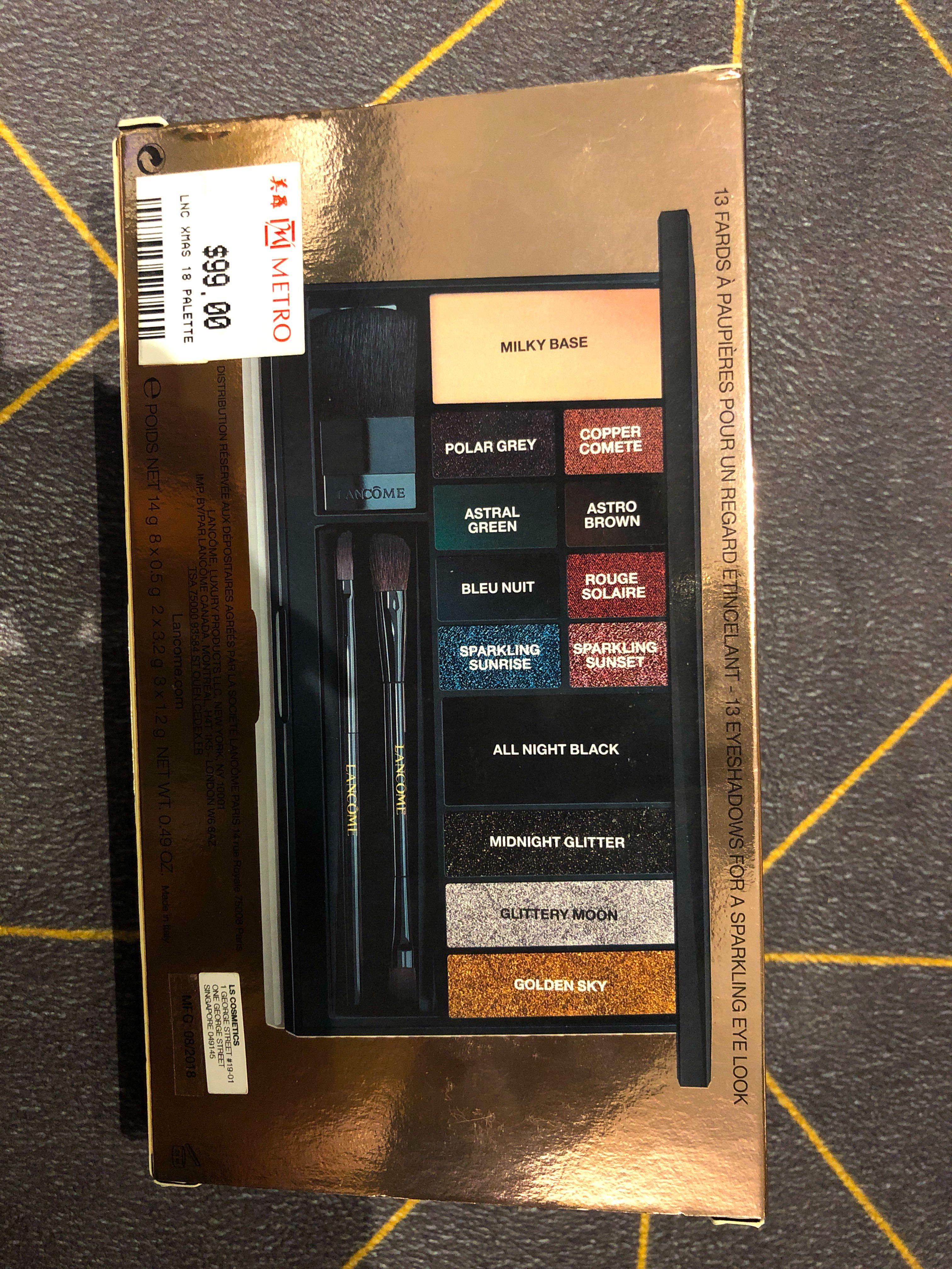 BN Lancôme Starlight Sparkle Eyeshadow Palette