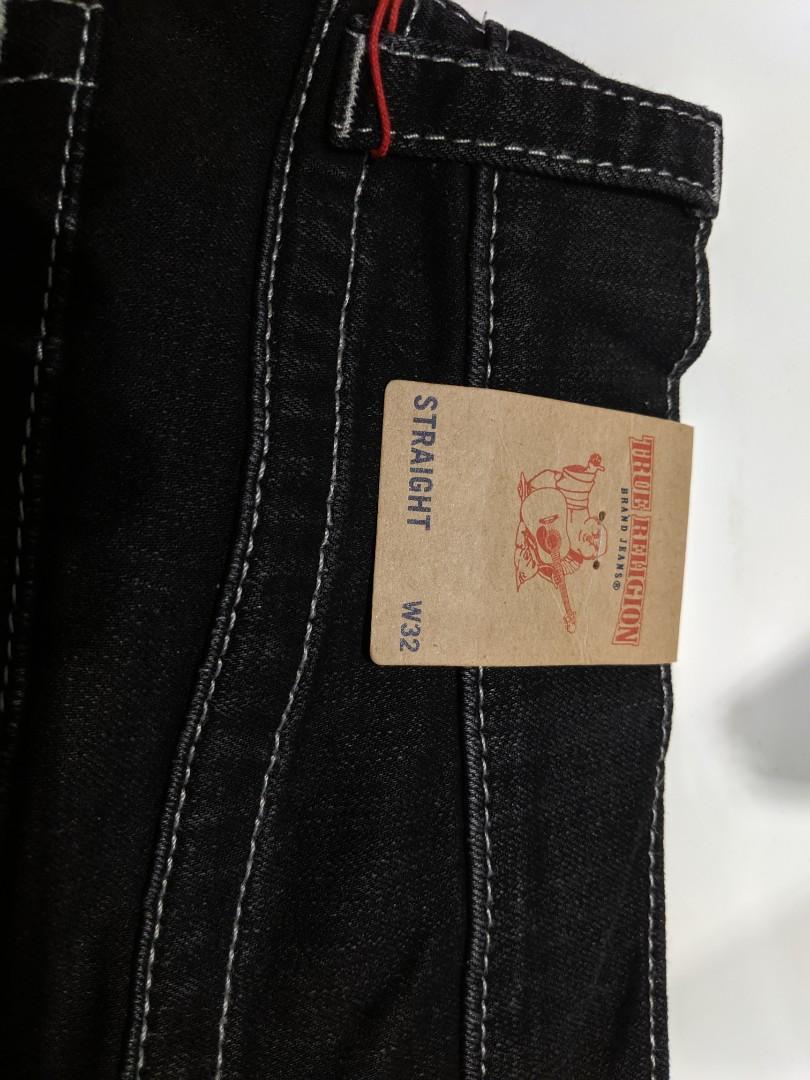 BNWT True Religion Men's Straight Cut Jeans (32 Waist)