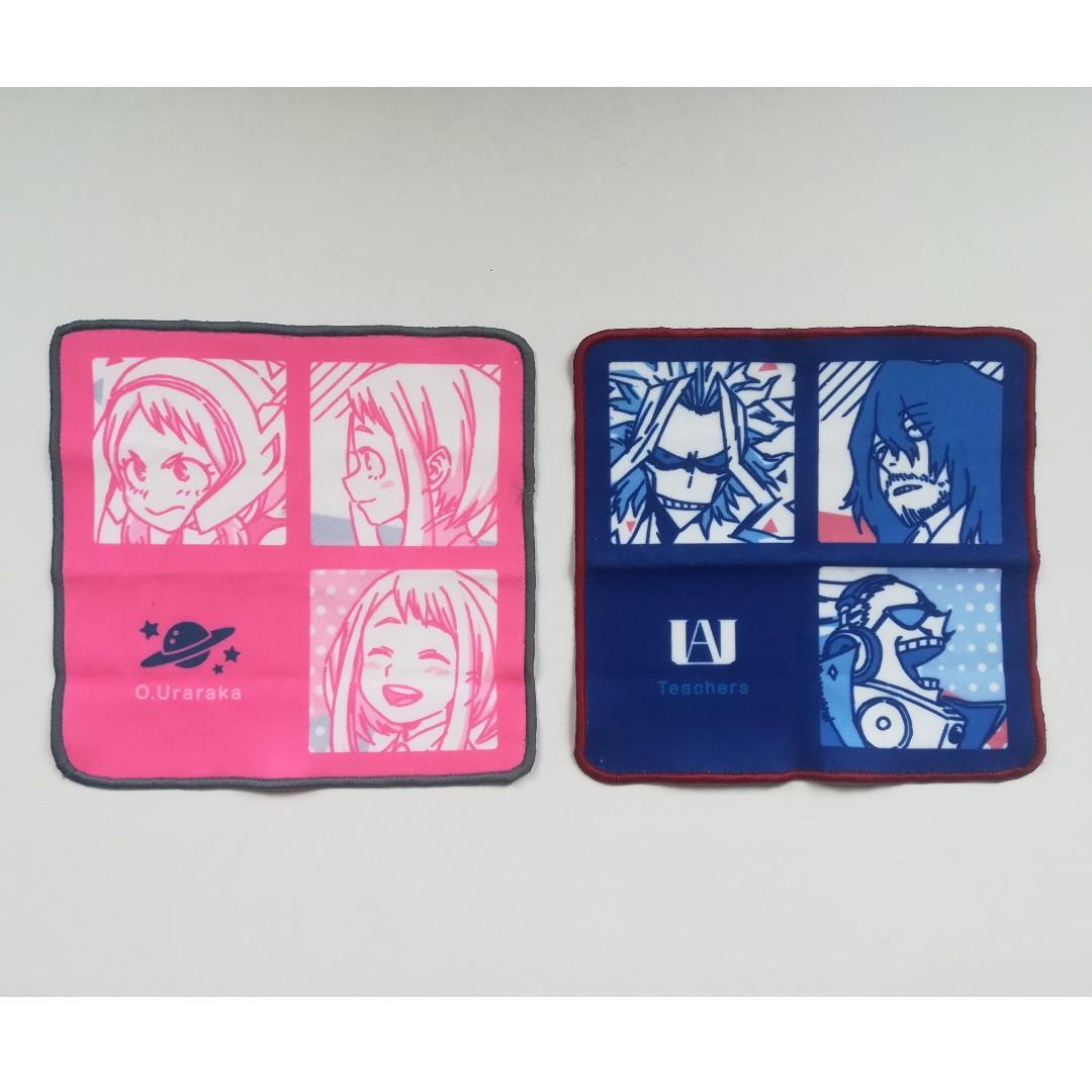 Boku no Hero Academia - Ochaco Uraraka / Aizawa Shota, All Might, Present Mic - Microfiber Mini Towel