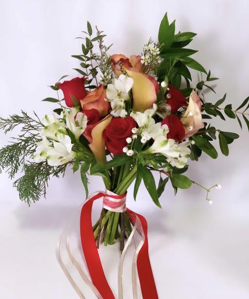Bridal Bouquet (Garden Rose)
