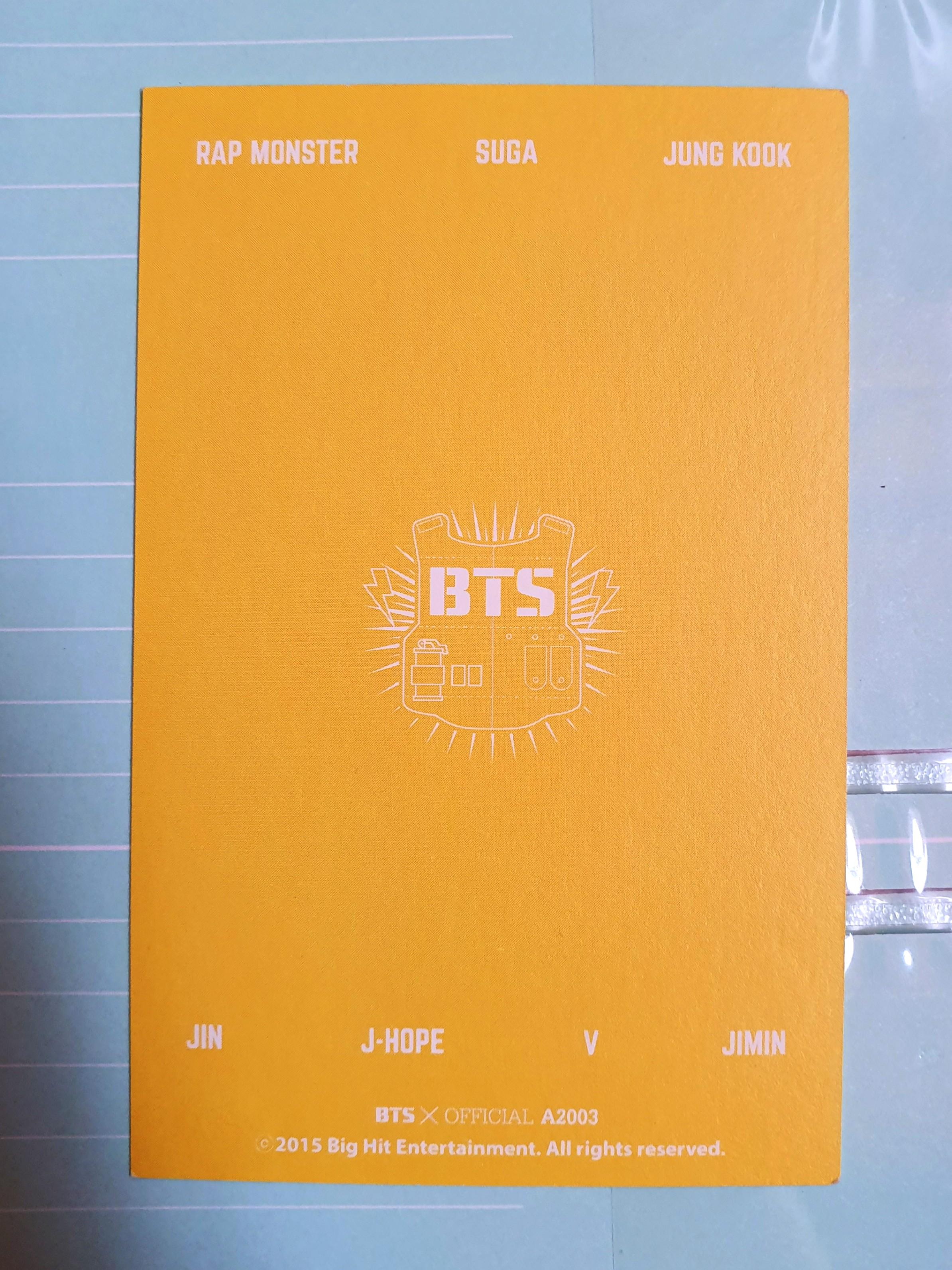 BTS Global Official Fanclub ARMY 2ND TERM MEMBERSHIP Mini Photoset