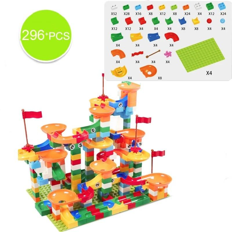 296 Piece Super Sliding Blocks