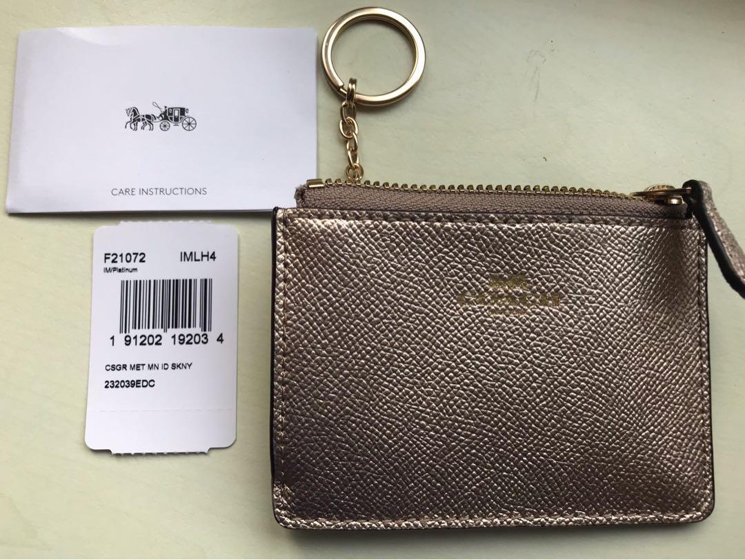 Coach Coin / Key & Card Wallet