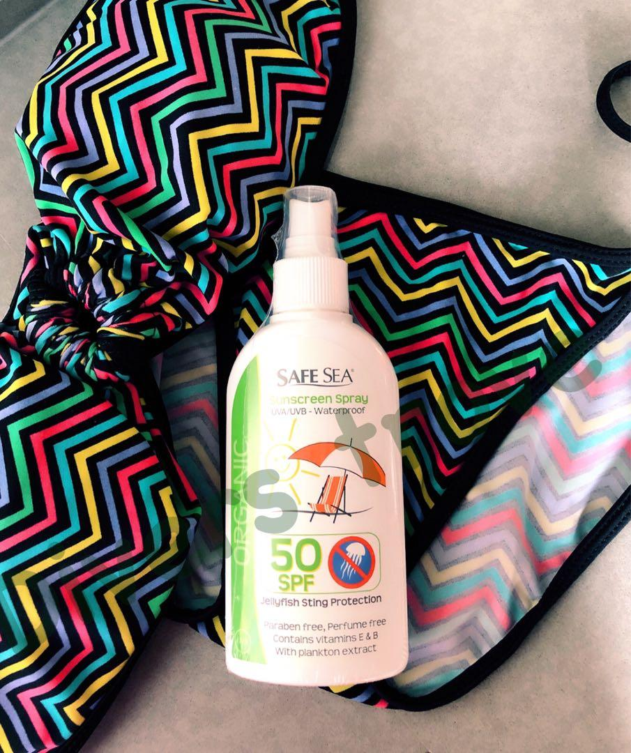Coral friendly Sunscreen Spray