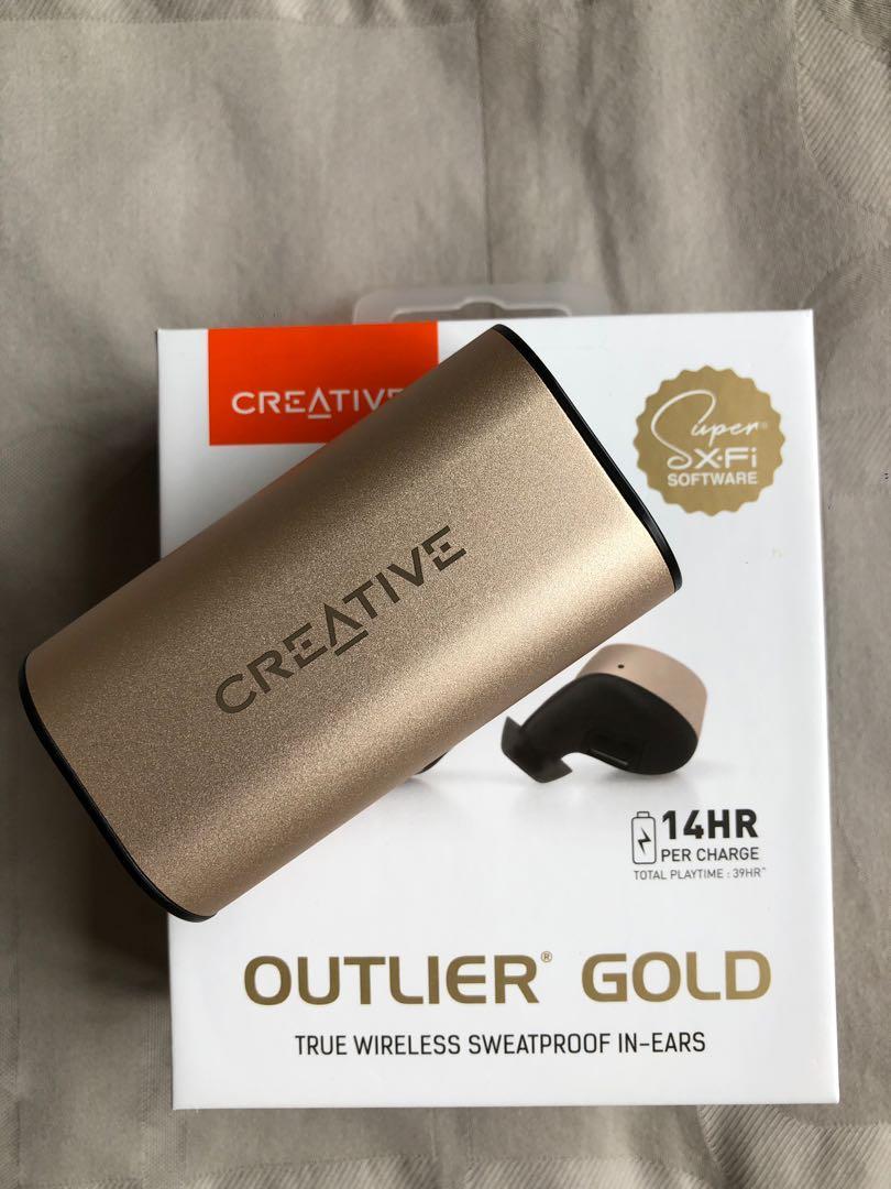 Creative Outlier Gold