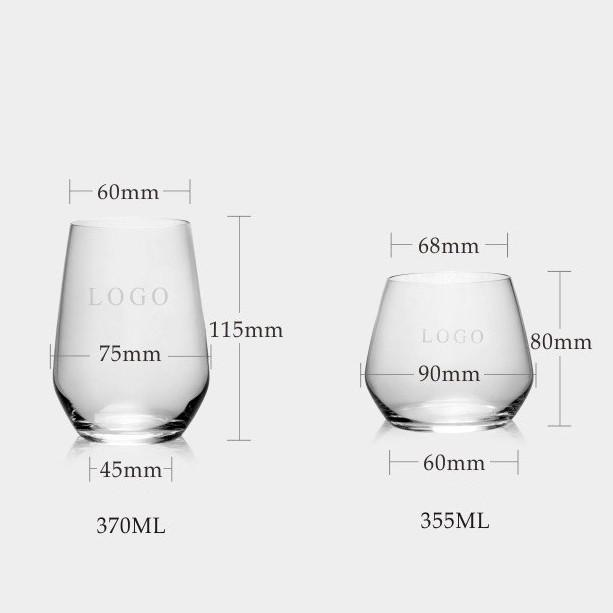 Customisable Whiskey Glasses