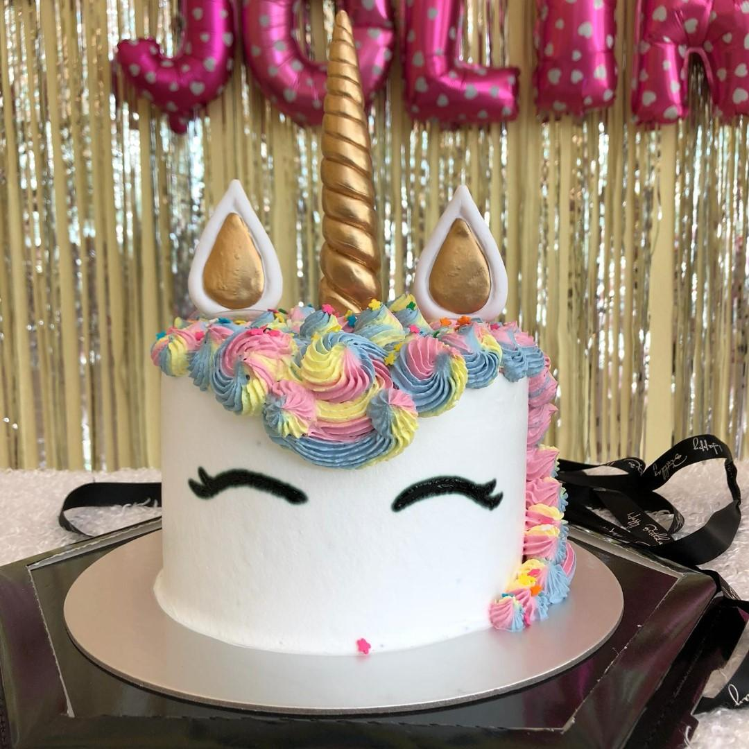 Delicious Unicorn Cake