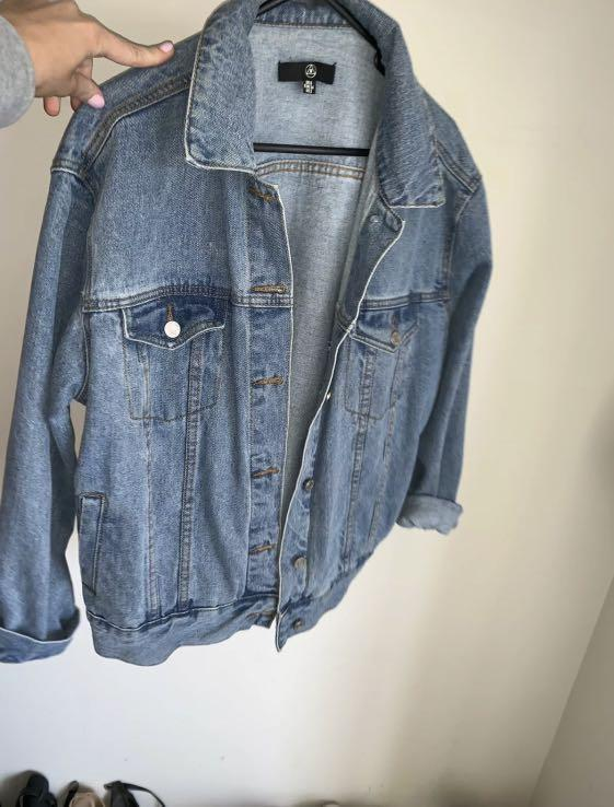 Denim jacket size 8-10