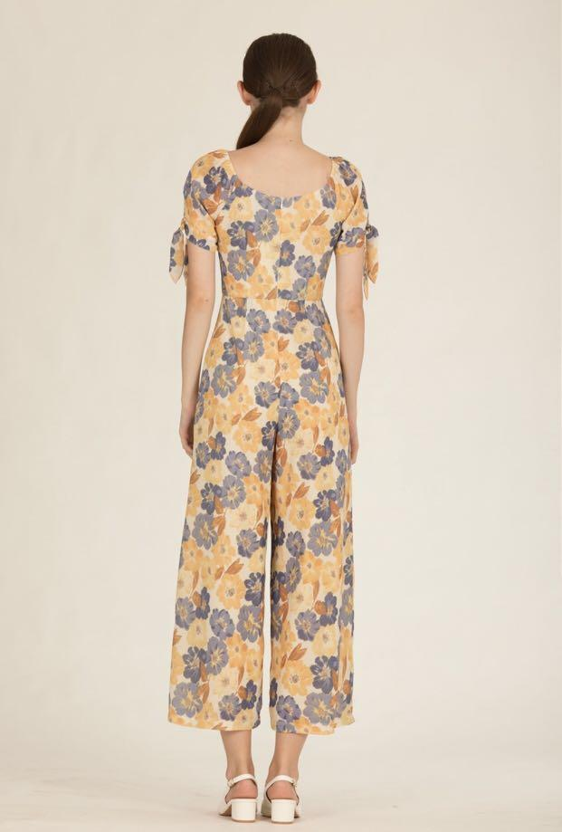 Doublewoot Dimixcay Yellow Jumpsuit