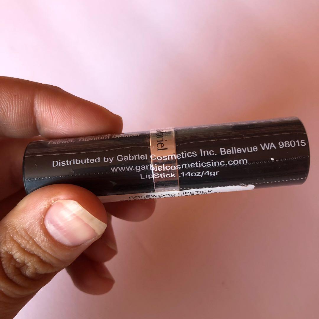 Gabriel Cosmetics Lipstick - Rosewood Peachy Pink/Cool Crème