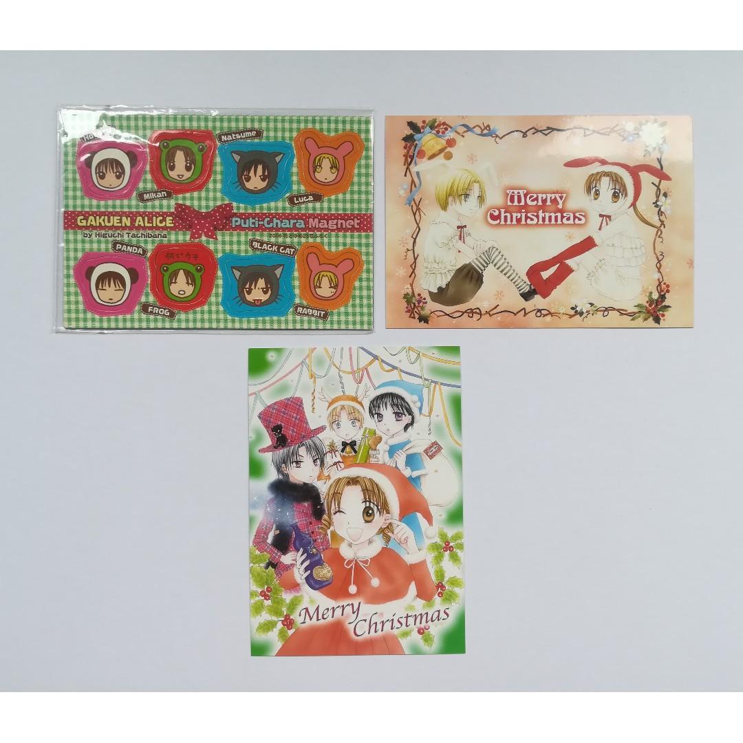 Gakuen Alice - Petite Character Magnet / Puti-Chara Magnet