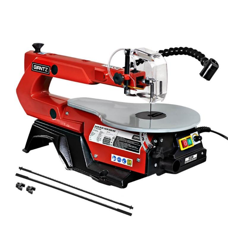 Giantz 16″ 120W Scroll Saw Blades Variable Speed Saws Electric Lamps Scrollsaw