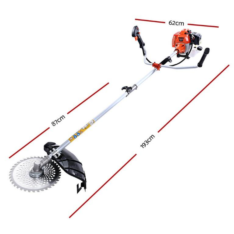 Giantz Pole Chainsaw Hedge Trimmer Brush Cutter Whipper Snipper Multi Tool