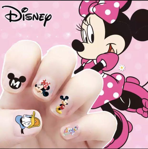 Girls Disney Nail Stickers