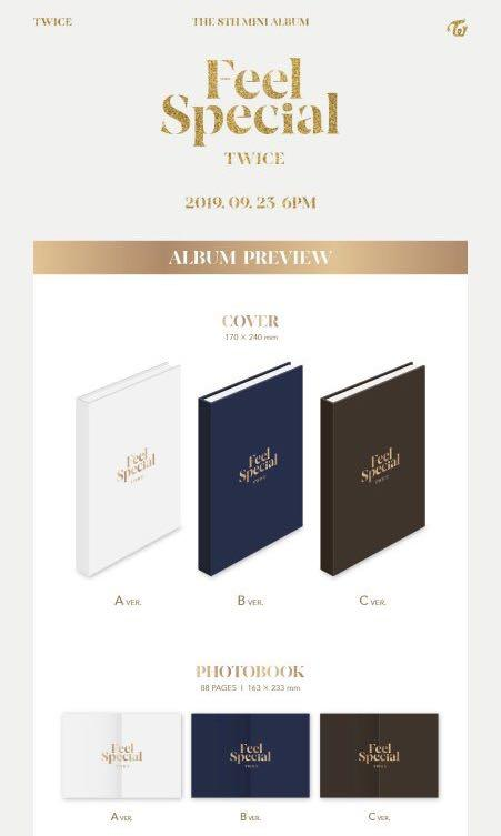 (GO Notice) TWICE Feel Special 8th Mini Album Group Order
