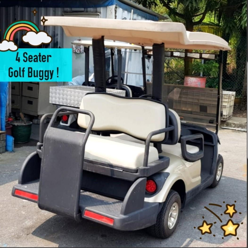 (GOOD Condition!)👍4 Seater Electric Golf Buggy