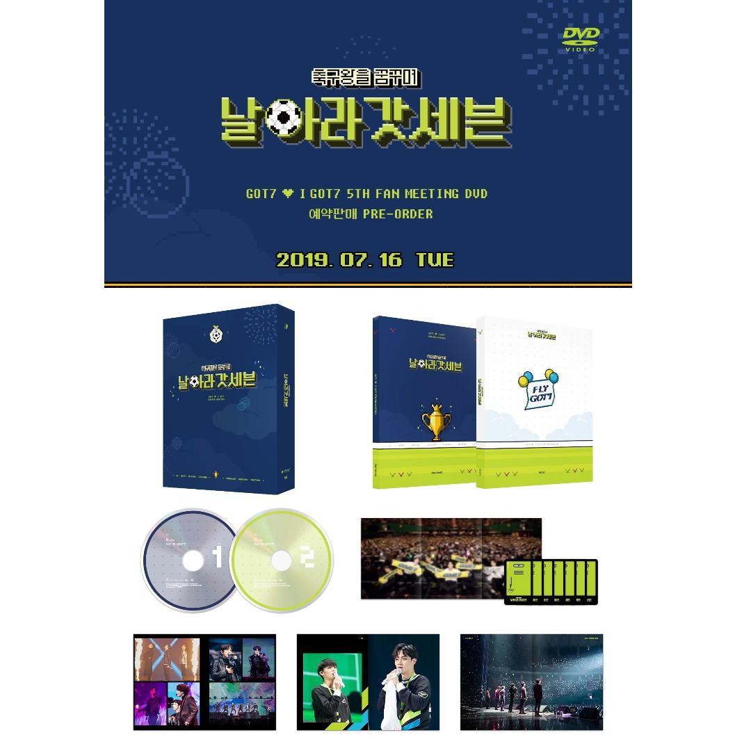 GOT7 - GOT7 ♡ iGOT7 5th Fan Meeting (Dreaming of The Soccer King, 'Fly GOT7' DVD