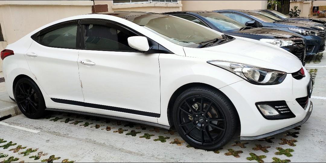 Hyundai Elantra 1.6 Elite 4-Dr (A)
