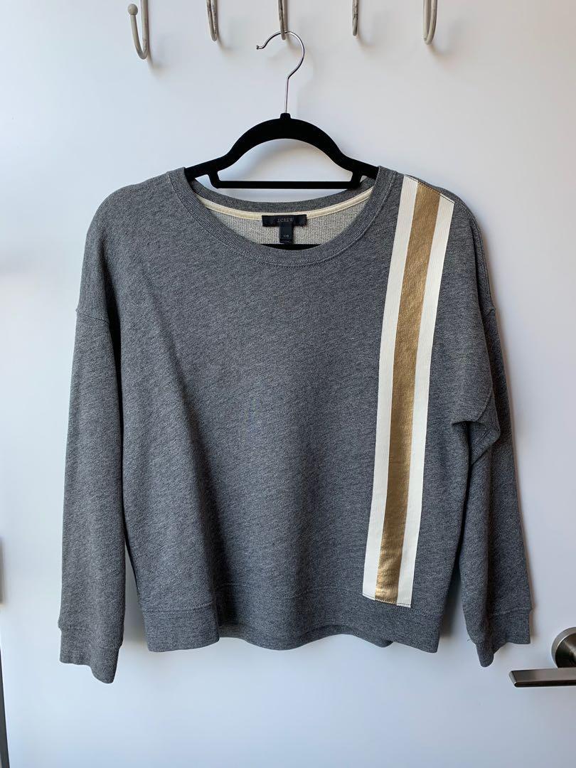 J Crew fancy sweatshirt - XXS