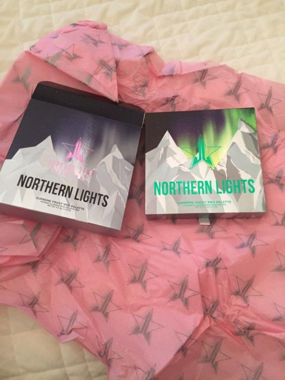 Jeffree Star Northern Lights SUPREME FROST Highlighter Palette BRAND NEW & AUTHENTIC [NO SWAPS, PRICE IS FIRM]