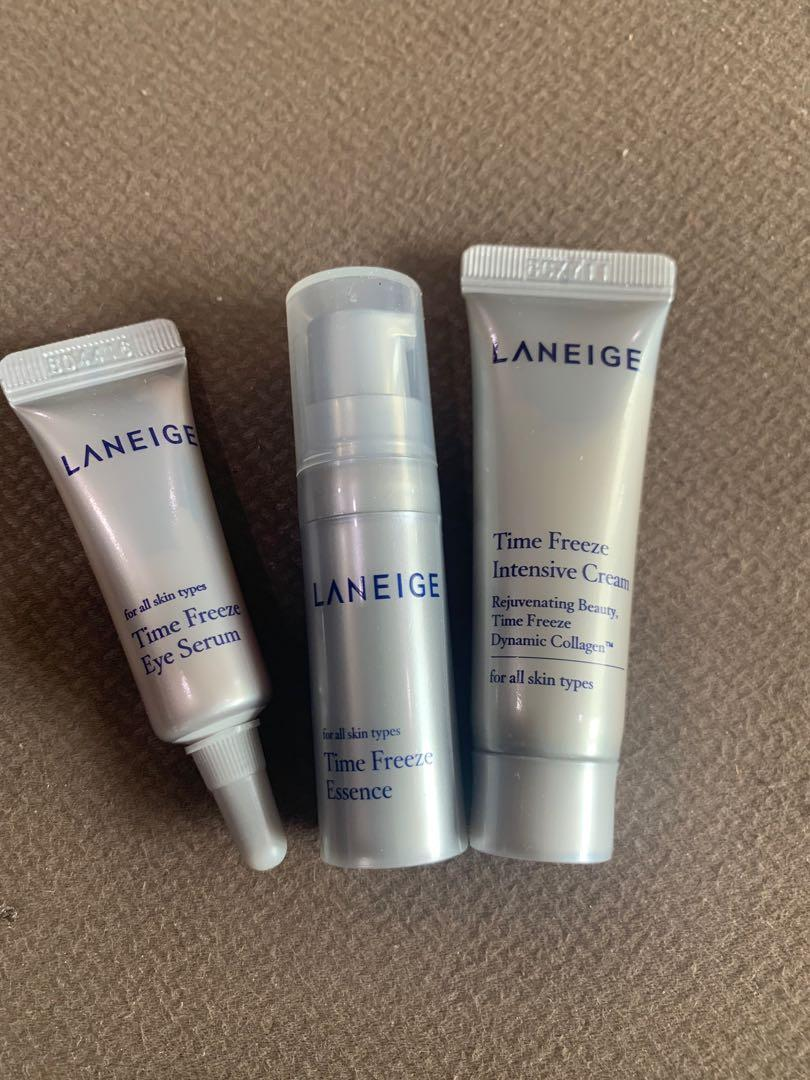 Laneige - time freeze trial kit